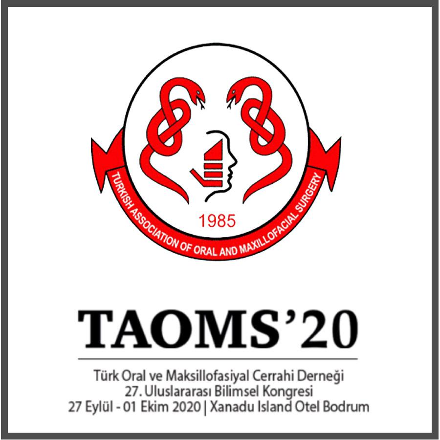 Türk Oral ve Maksillofasiyal Cerrahi Derneği 27. Uluslararası Bilimsel Kongresi